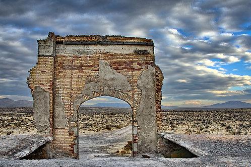 Lincoln School Ruins-I