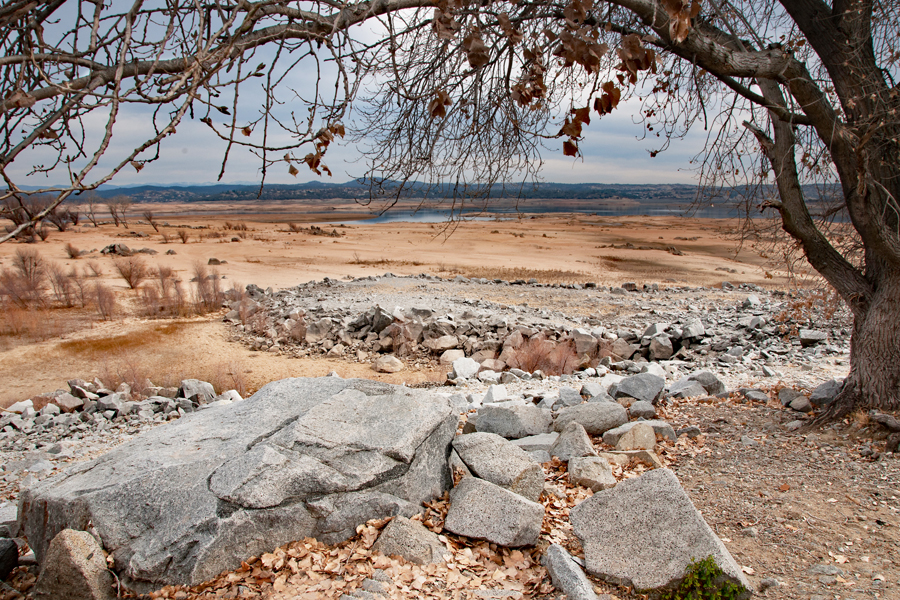 Drought at Folsom Lake
