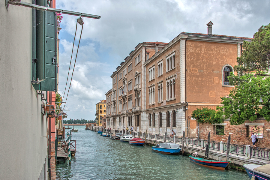 View of the Santa Glustina Canal