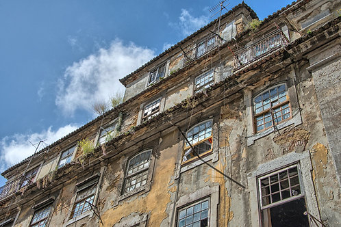Aged Lisbon Building