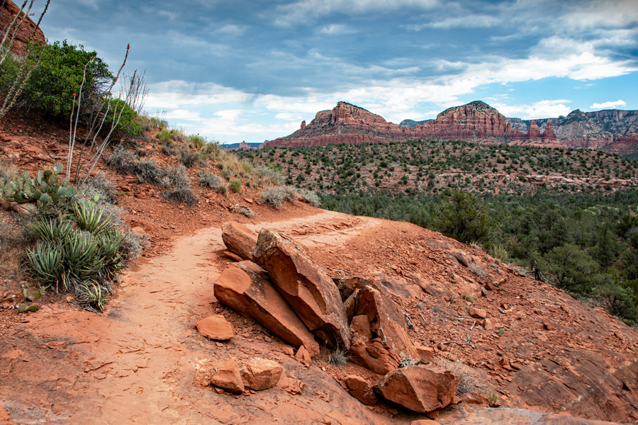 Hiking Trail in Sedona