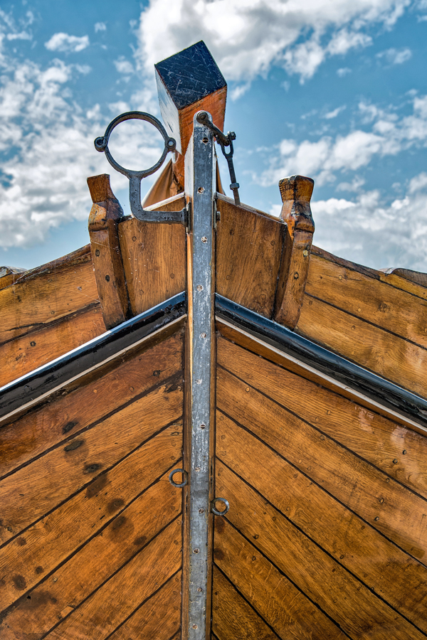 Boat Bow in Hoorn