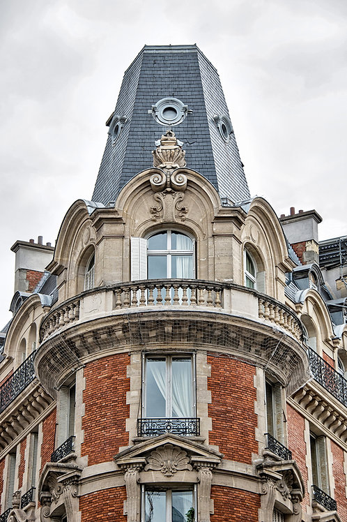 Parisian Apartment with Red Brick