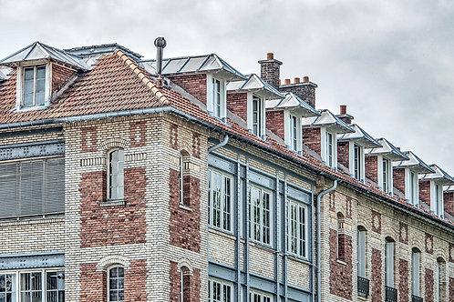 Brick Apartments in Paris