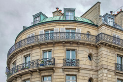Parisian Apartment with Copper Roof