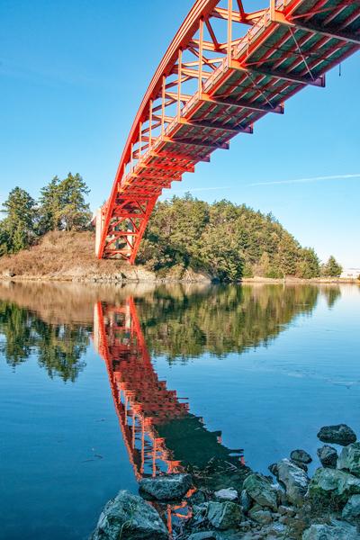 Rainbow Bridge in La Connor