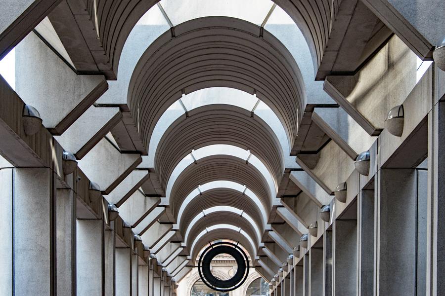 Ferry Building Ceiling I
