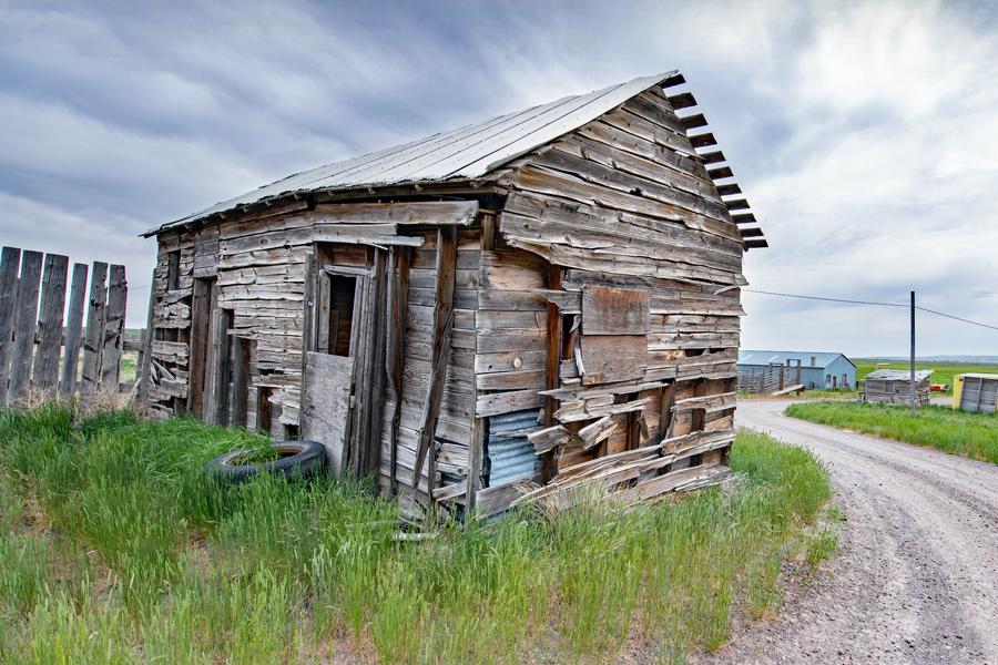 Barn on Idaho Route 93