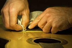 Parisian Luthier at Work