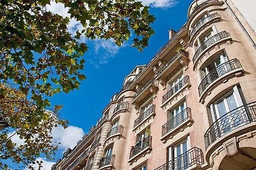 Pink Apartments in Paris