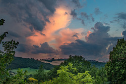 Tuscan Sunset-I
