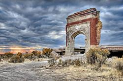 Lincoln School Ruins-II
