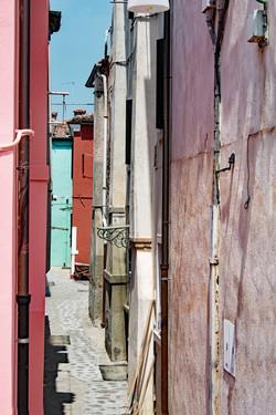 Narrow Alleyway of Burano