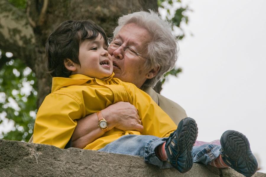 Loving Grandma