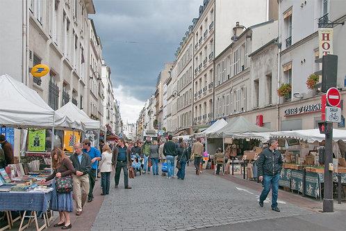 Shopping Along Rue Cler
