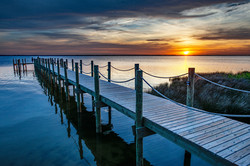 Sunset at Outer Banks