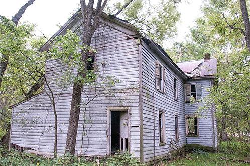 Abandoned Home of Irvington