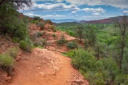 Zigzag Hiking Path of Sedona