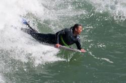 Belly Board Surfing