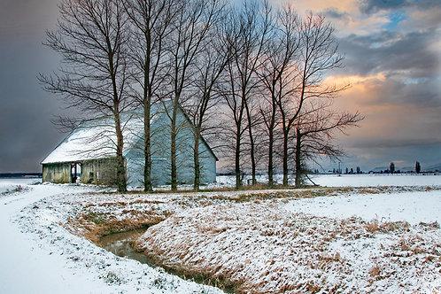 McLean Road Barn-Winter
