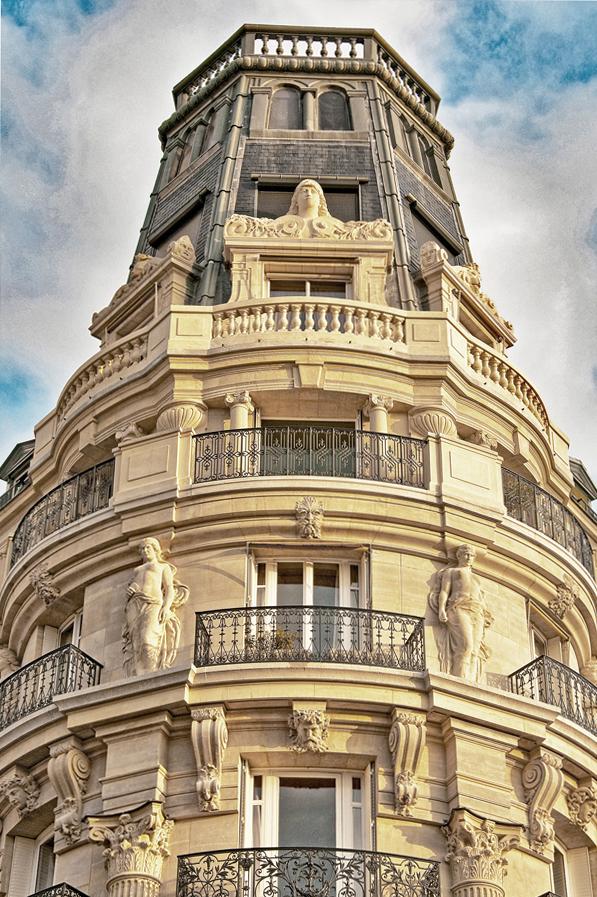 A Penthouse in Paris