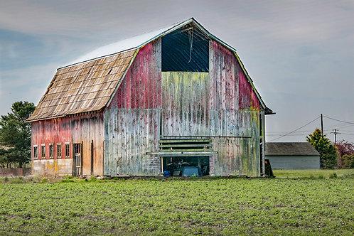 Mt Vernon Barn-II