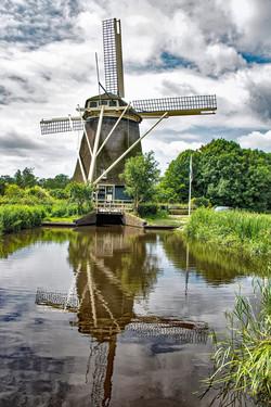 Windmill Reflection