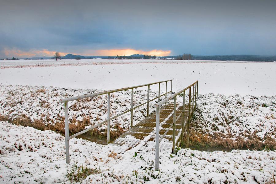 Winter Farm on McLean Road