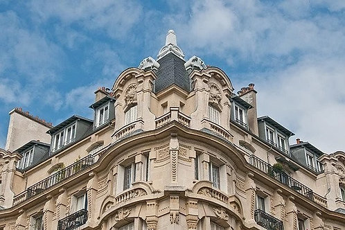 Corner Opulence in Paris