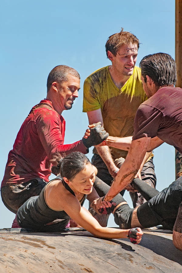Tough Mudder Pyramid