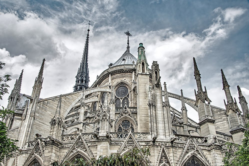 Notre Dame Cathedral (Before the Fire)