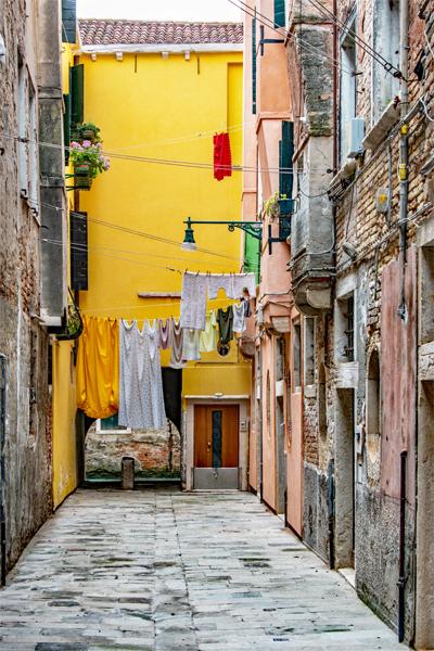 Yellow Alleyway