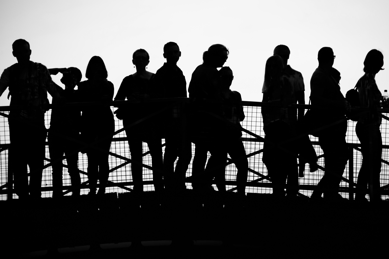 Silhouette on the Bridge