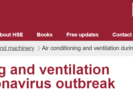 Great New Guidance from HSE on Covid-19 and Air Conditioning