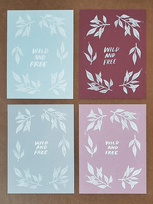 wild & free (9x12)