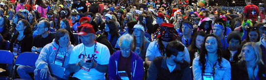 The audience at 2013 NCYC'S top Talent