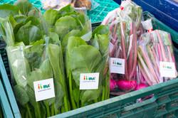 値段も書き込める野菜シール