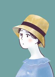 オリジナル「麦わら帽子」