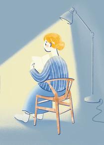 オリジナル「夜の読書」