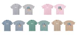 イクスピ子Tシャツ全5色