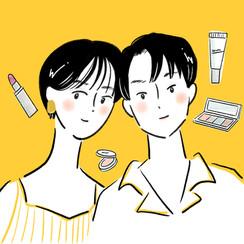 【WEB】 博報堂「ヘルシー」挿絵
