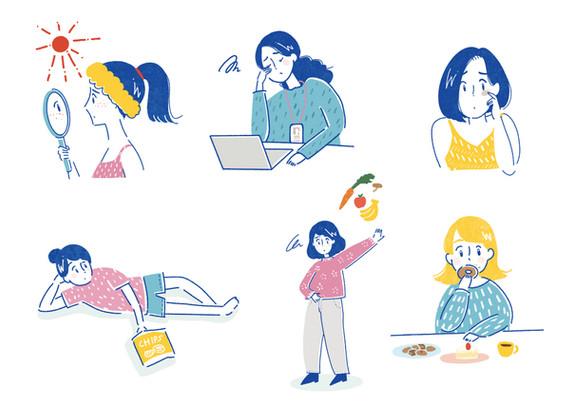 HOT PEPPER Beauty   6月号巻頭特集「悩まない!スーパーフードガイド」