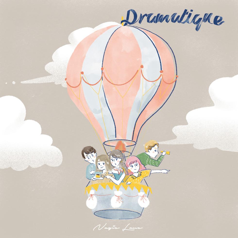 【CD JACKET】【Animation】Nagie Lane「Dramatique」CD jacketデザイン