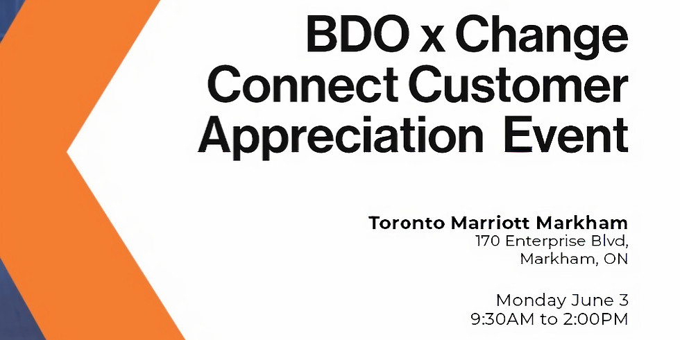 BDO x Change Connect Customer Appreciation Roundtable - Scaling Your Business Beyond Startup