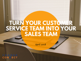 At Your Service - Turn Your Customer Service Team into Your Sales Team