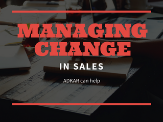 Managing Change in Sales Organizations