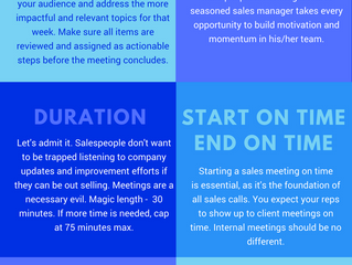 Efficient Sales Meeting - Oxymoron?
