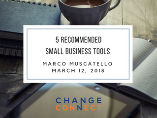 5 Recommended Small Business Tools