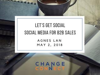 Let's Get Social - Social Media for B2B Sales