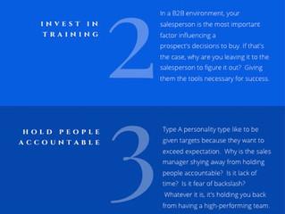 Sales Management Checklist